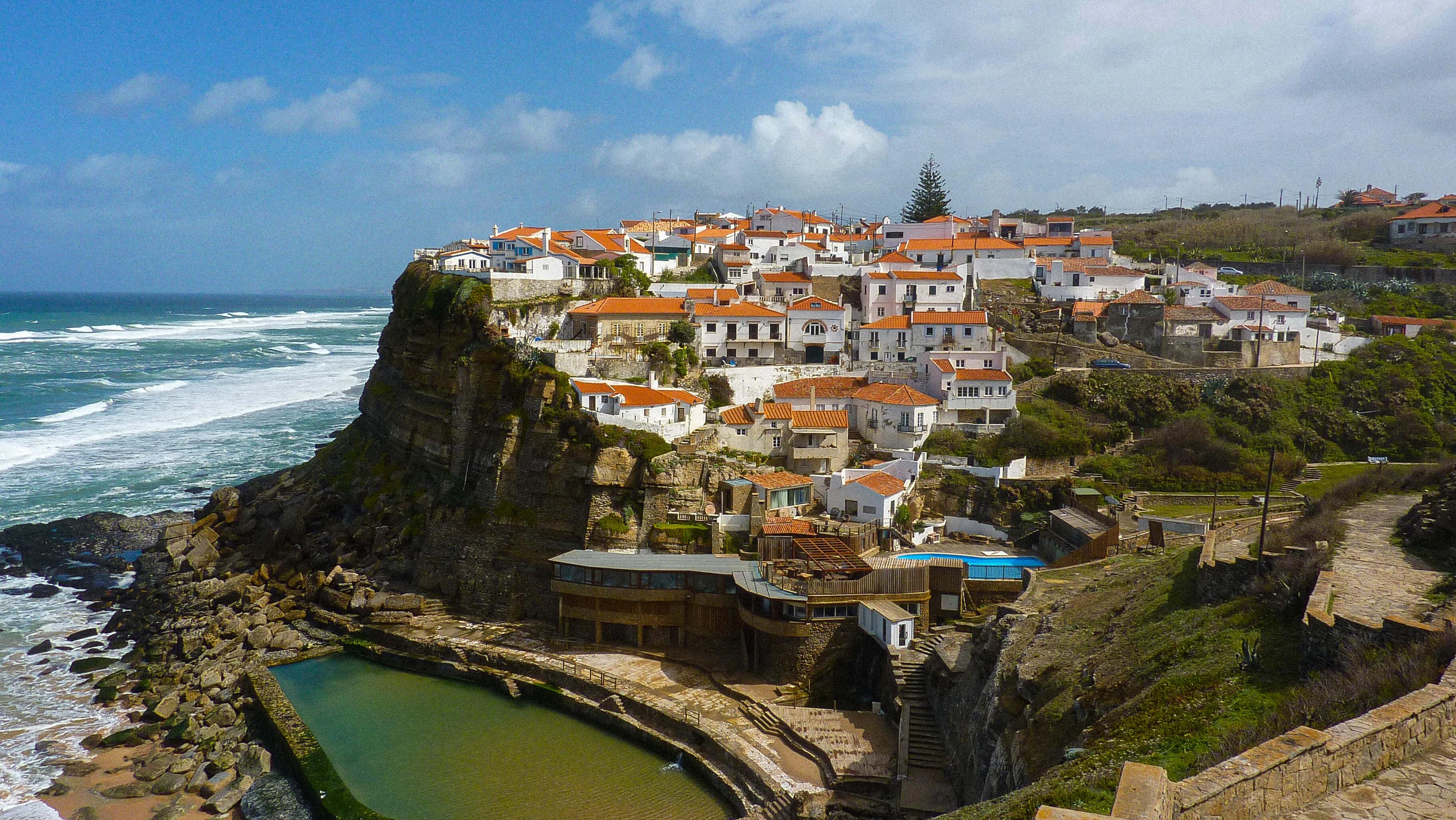Azenhas Do Mar, parc de Sintra, Portugal