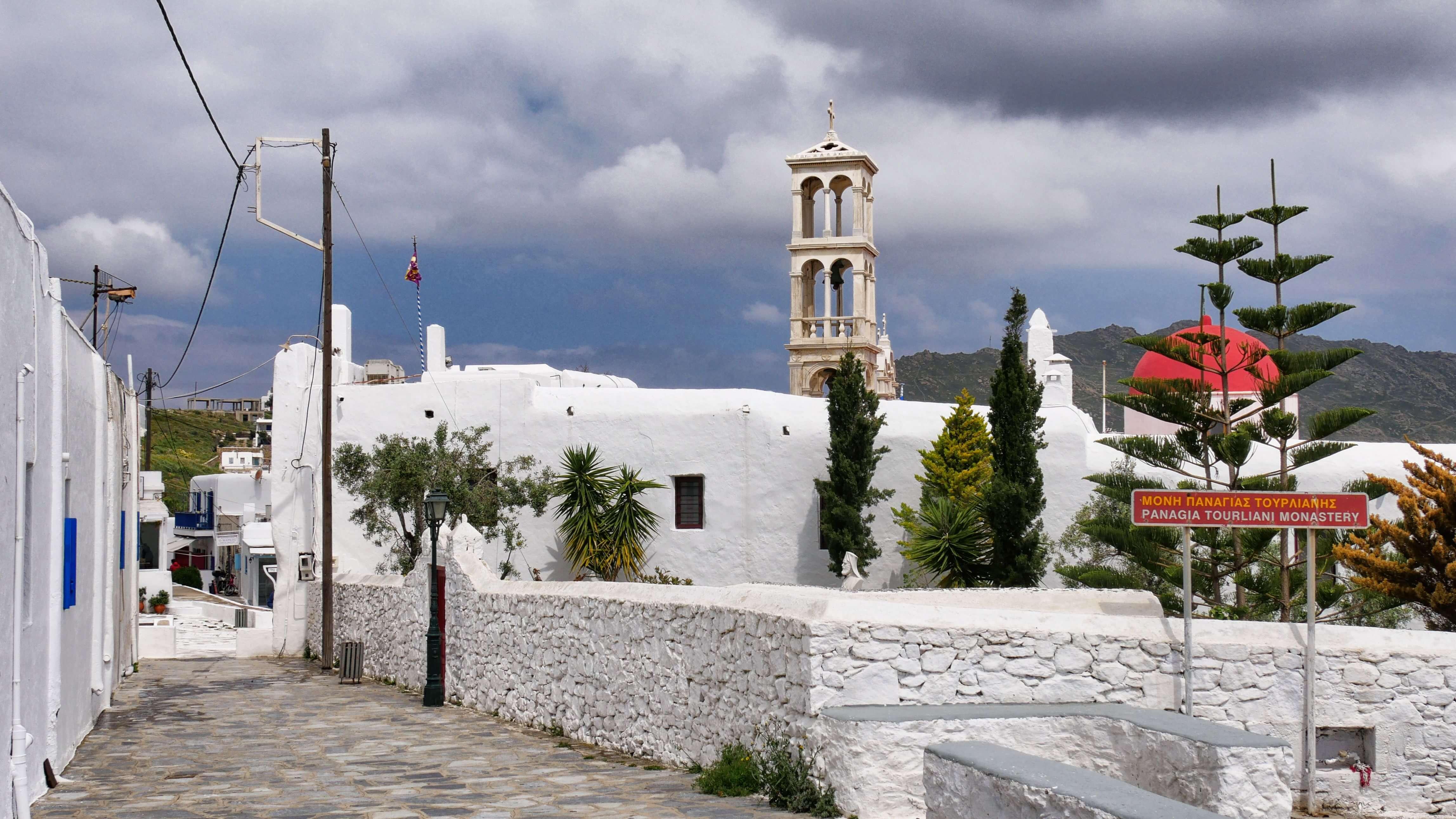 Monastère Panagia Tourliani, Ano-Mera, Mykonos, Grèce