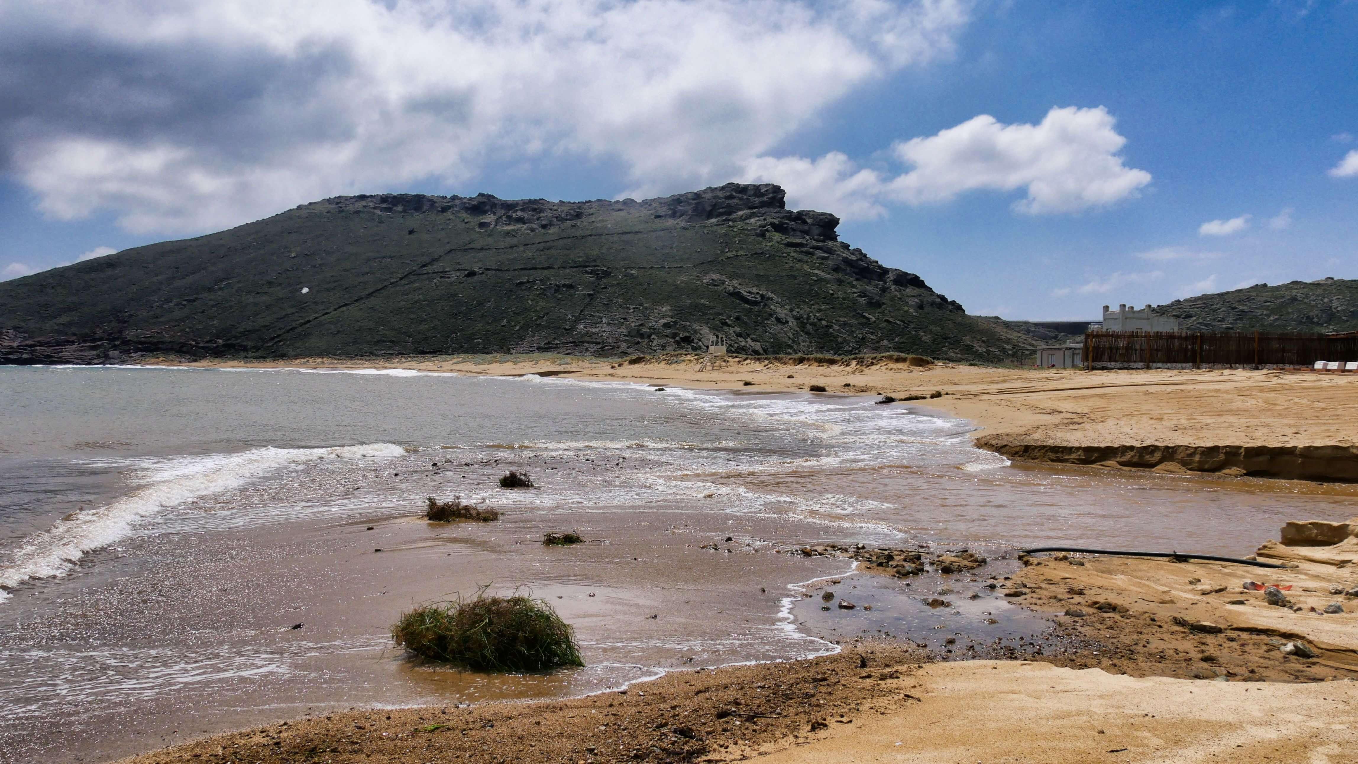 Plage de Panormos, Mykonos, Grèce
