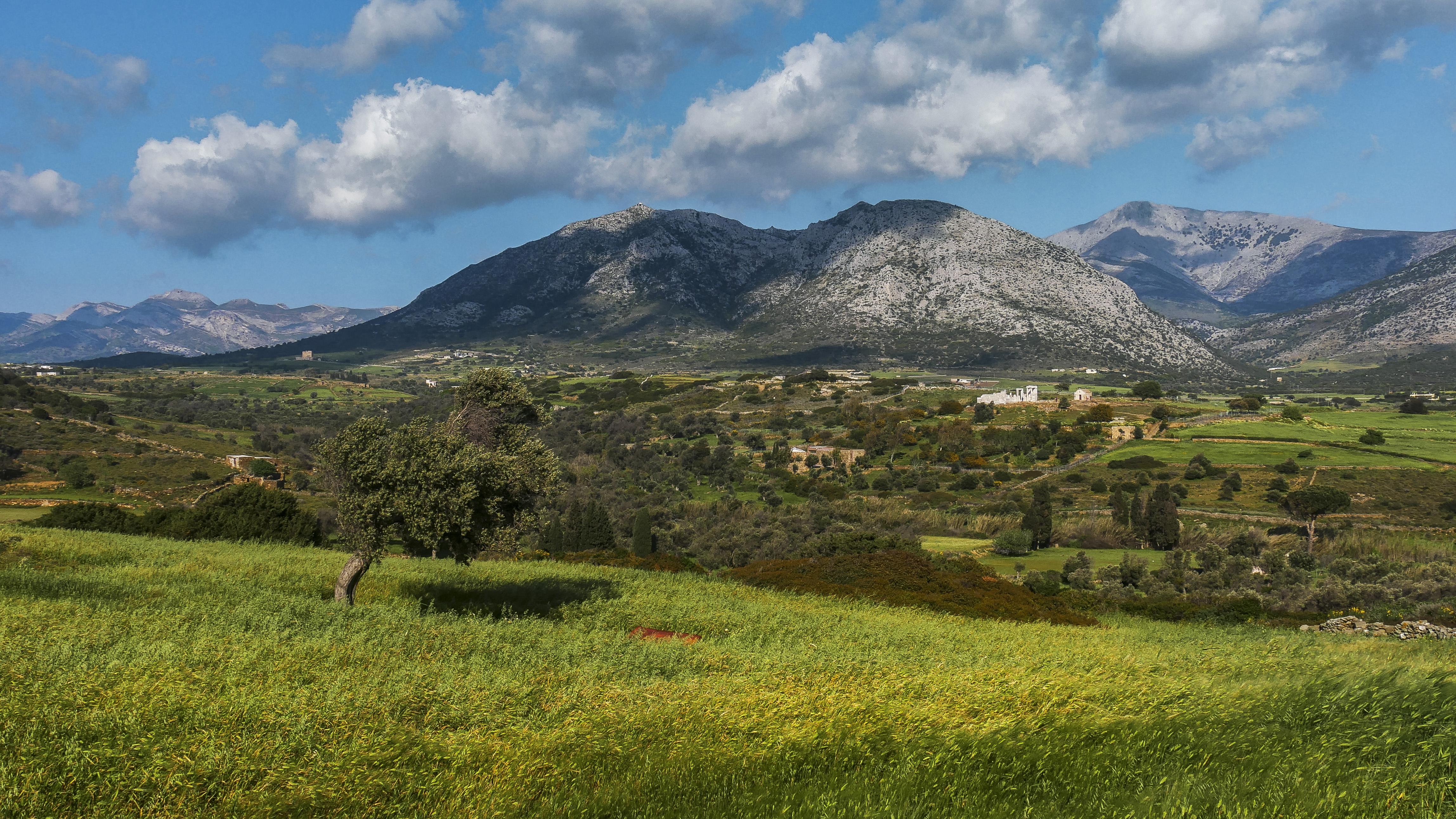 Temple de Demeter, vallée de Sangri, Naxos, Grèce