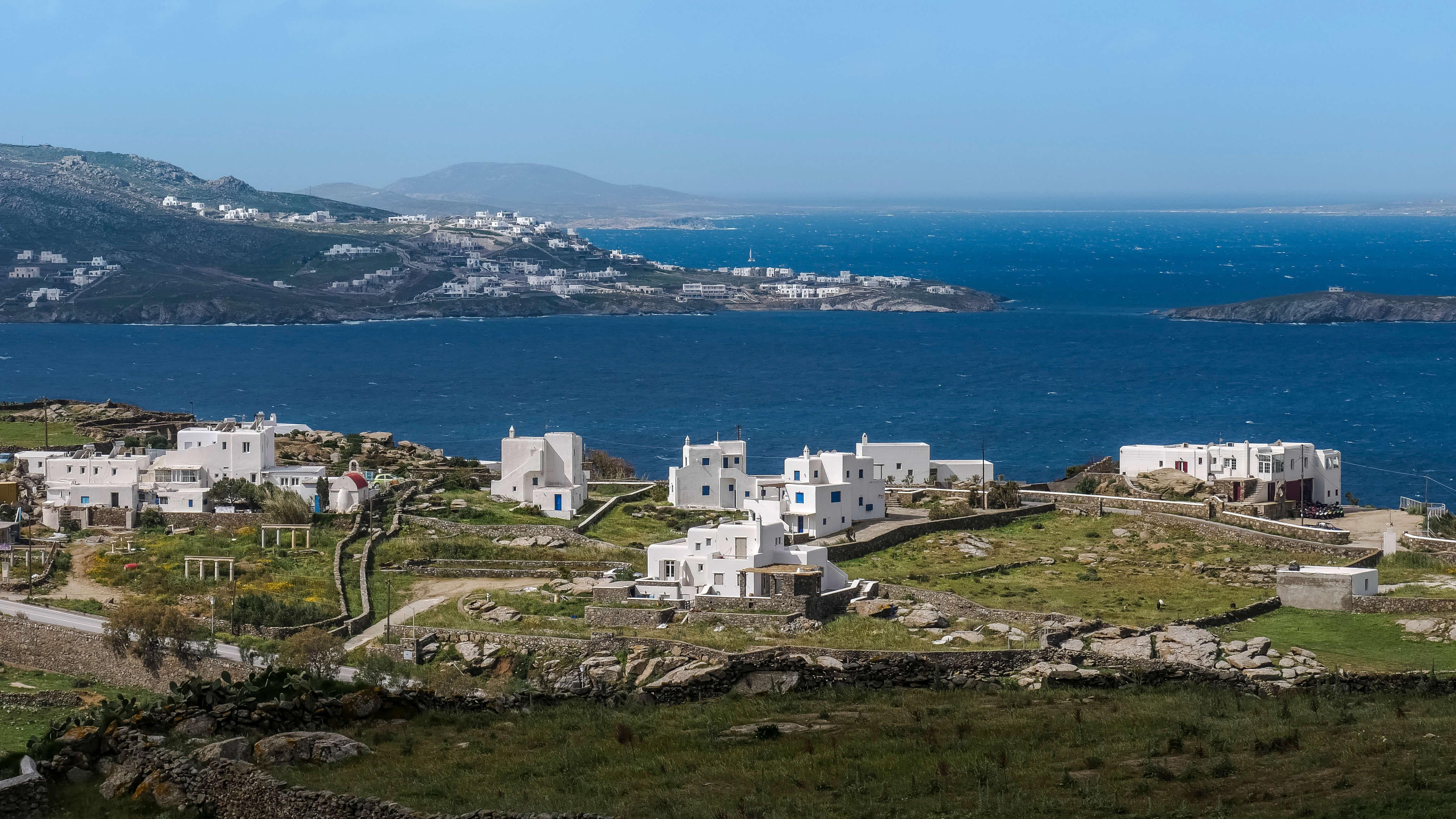 L'île de Mykonos, Cyclades, Grèce