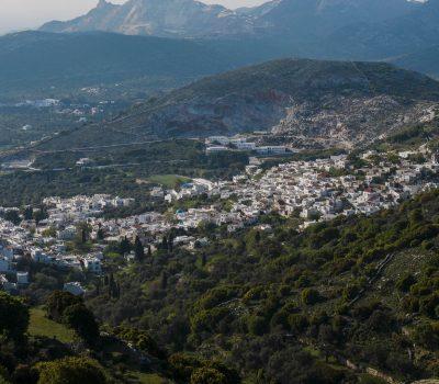 Filoti, au cœur des montagnes de Naxos