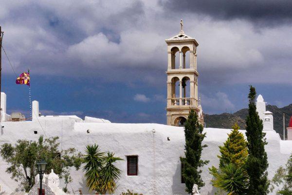 Ano Mera et le Monastère Panagia Tourliani