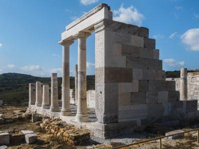 Visiter le Temple de Demeter sur l'île de Naxos