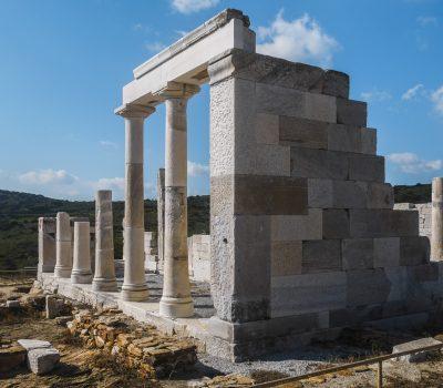 Naxos : le Temple de Demeter