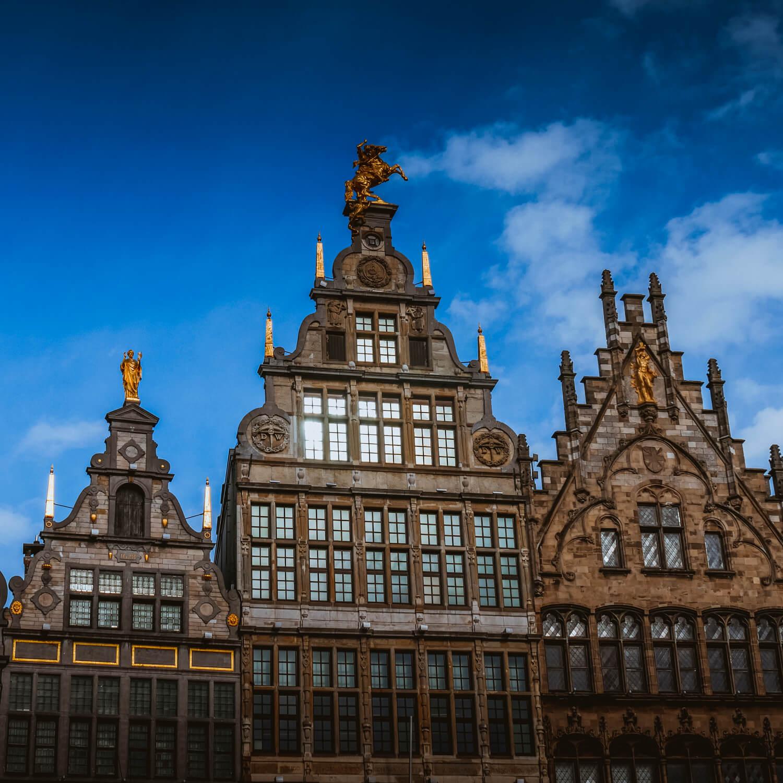 Grande place d'Anvers, Belgique