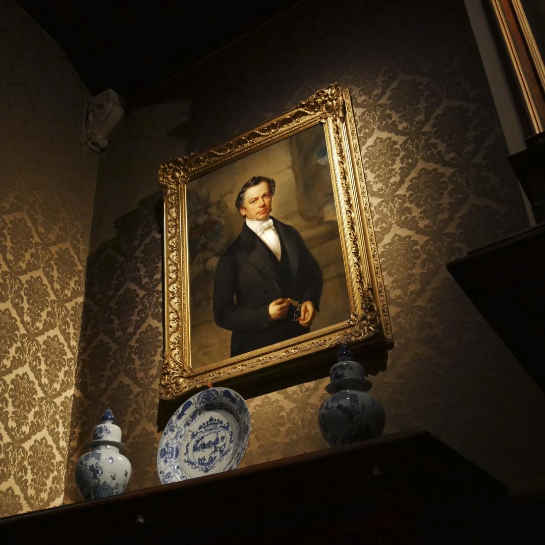 Portrait d'Edward Moretus