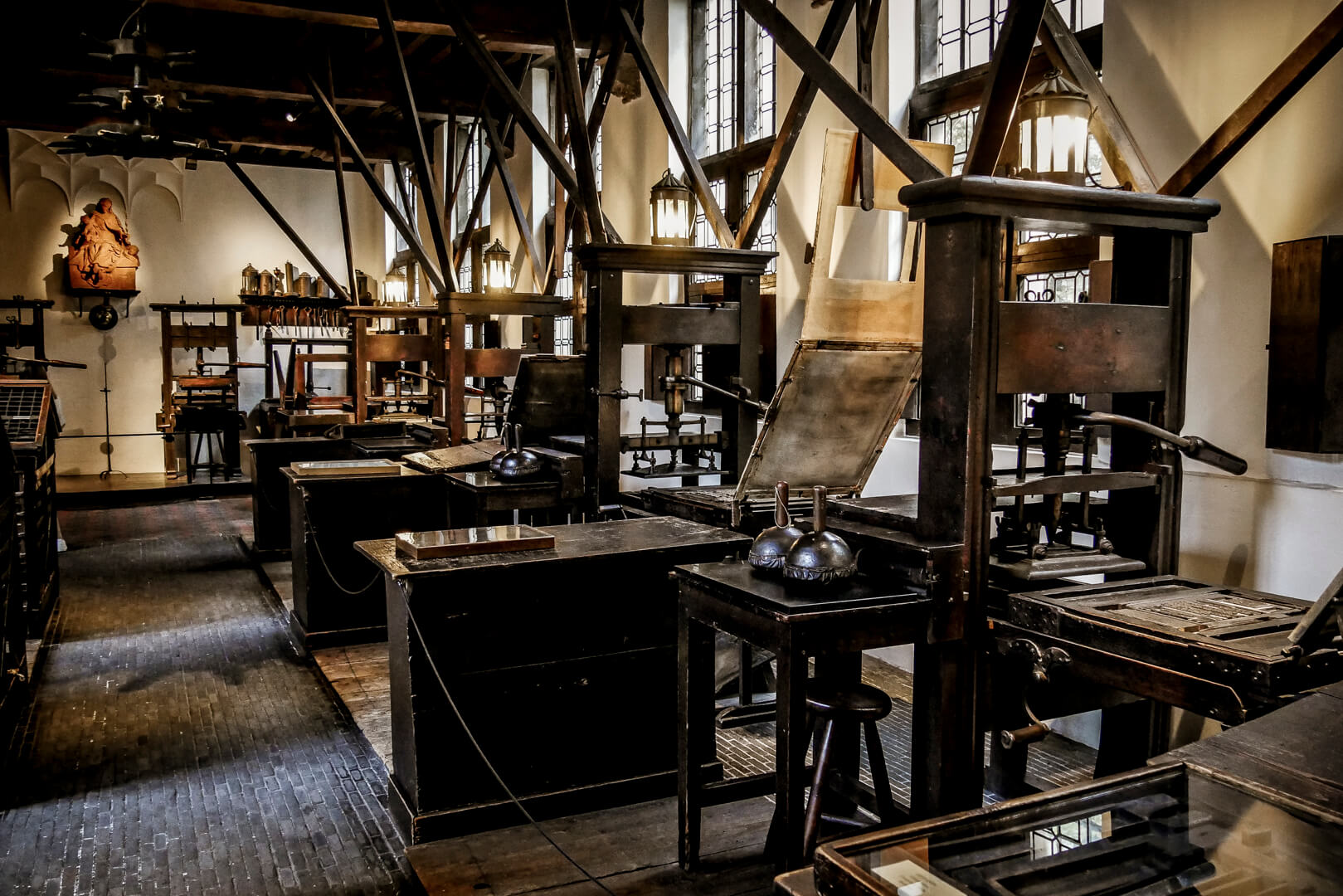 L'imprimerie du musée Plantin Moretus