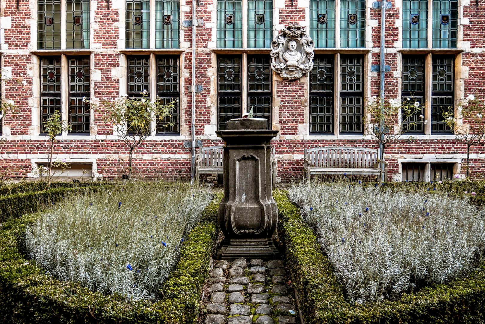 Le jardin du musée Plantin Moretus
