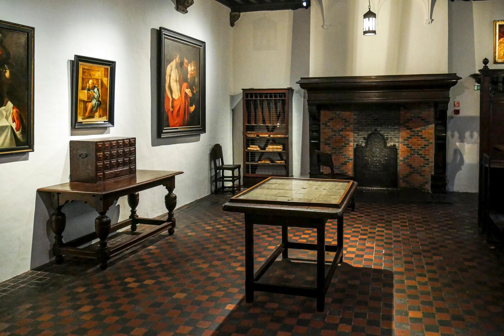 Musée Plantin Moretus : La salle des correcteurs