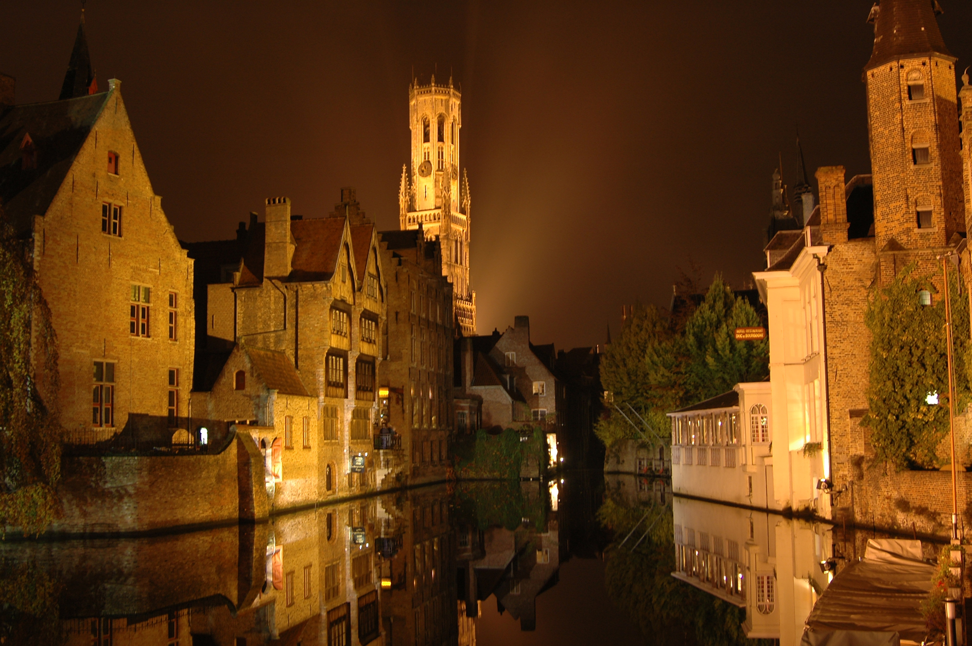 Le Beffroi et les canaux, Bruges