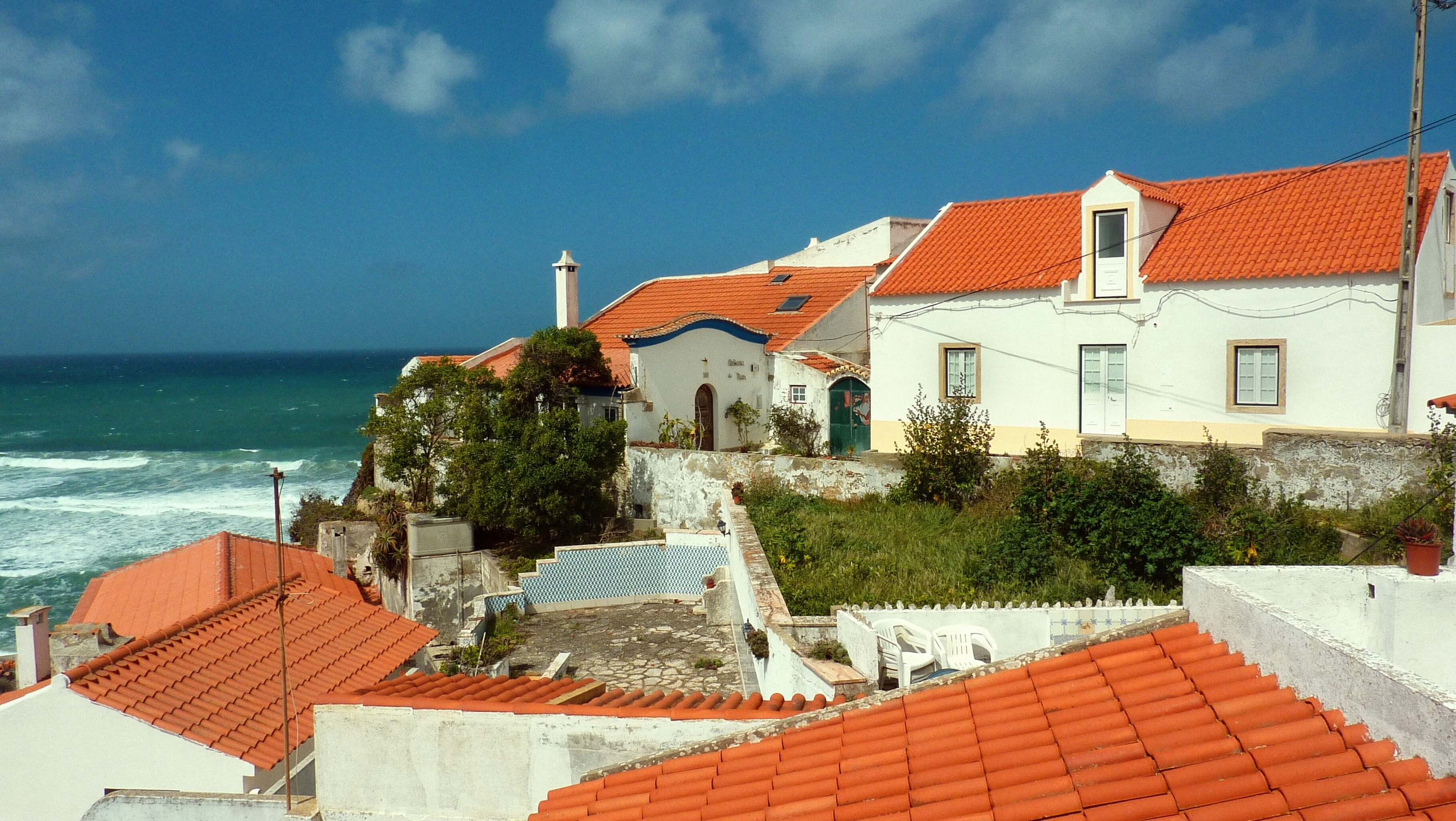 Azenhas do Mar, Portugal (le village)