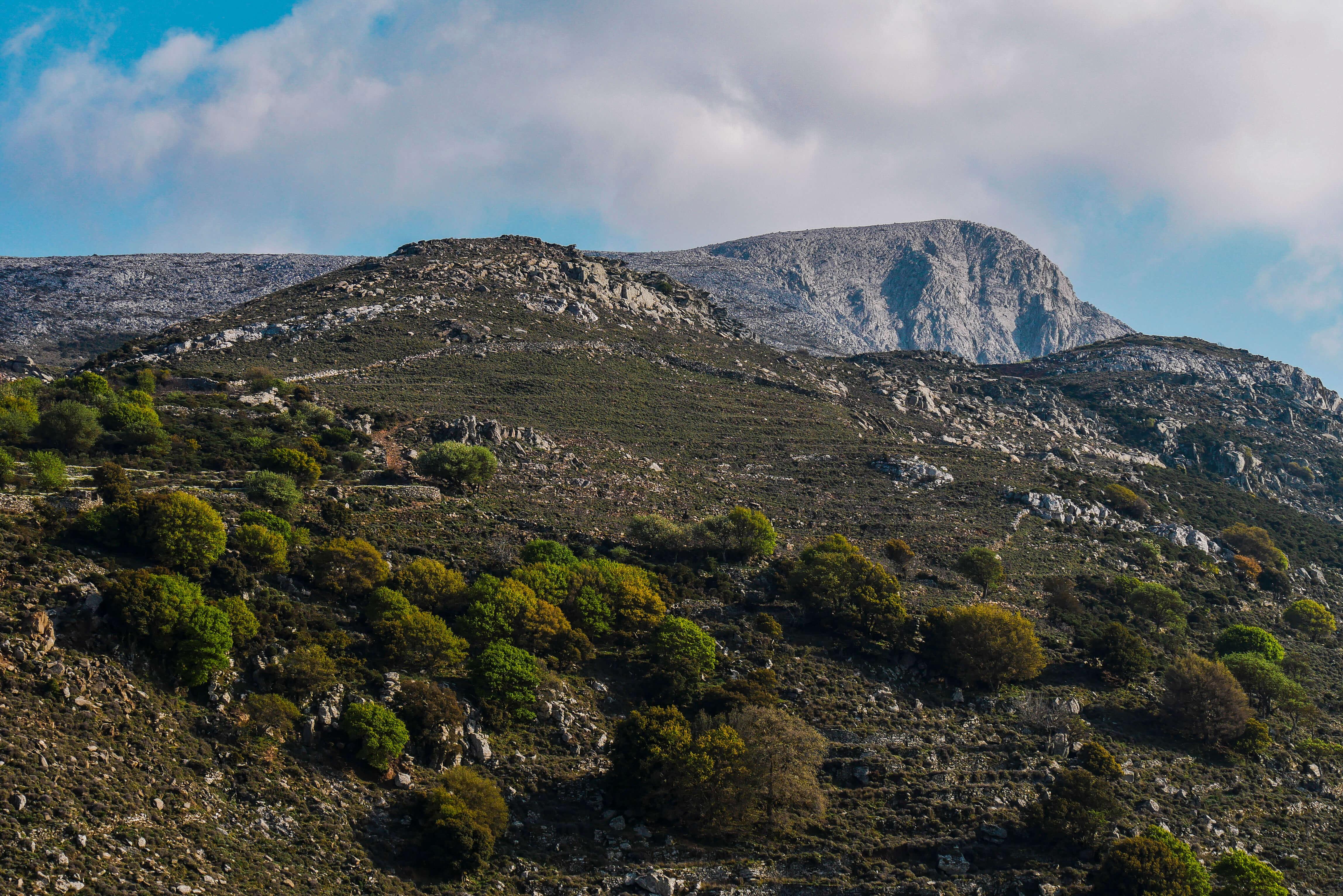 Le Mont Zeus, Naxos, Grèce