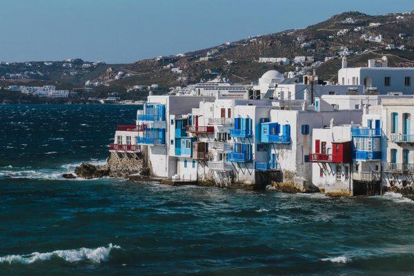 Chora, la cité de l'île de Mykonos